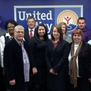 UWP Members gather at a regional meeting
